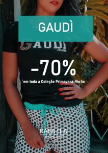 Saldos -70% Gaudi