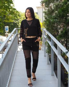 Set Black Fashion L'Ola Bianka