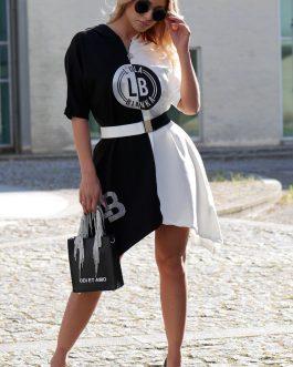 Vestido Black and White LB